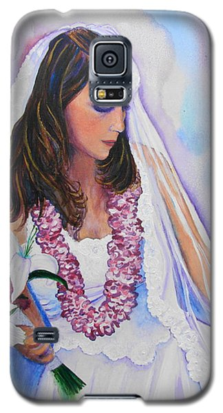 Galaxy S5 Case featuring the painting Jenny by Margaret Bobb