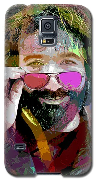 Jerry Garcia Art Galaxy S5 Case