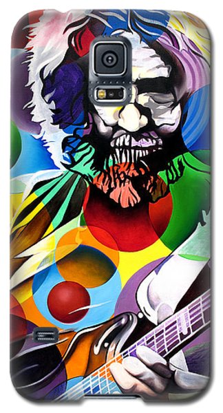 Jerry Garcia In Bubbles Galaxy S5 Case by Joshua Morton