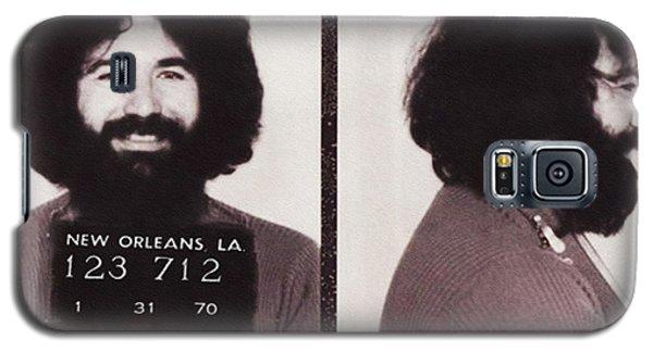 Jerry Garcia Mugshot Galaxy S5 Case by Bill Cannon