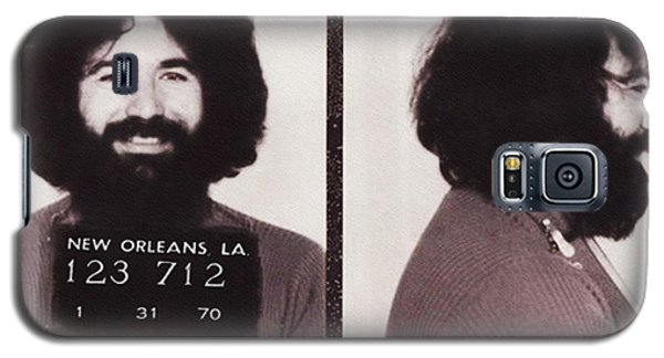 Jerry Garcia Mugshot Galaxy S5 Case