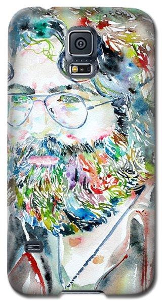 Jerry Garcia Watercolor Portrait.2 Galaxy S5 Case