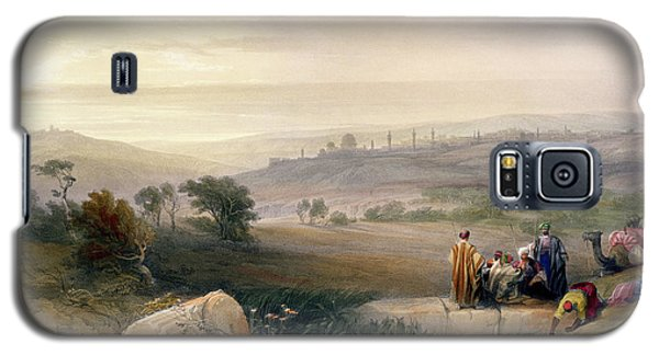 Jerusalem, April 1839 Galaxy S5 Case by David Roberts