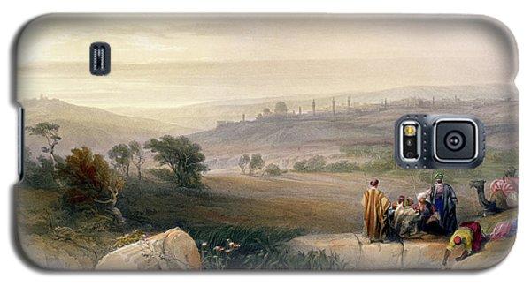 Jerusalem, April 1839 Galaxy S5 Case by David Roberts