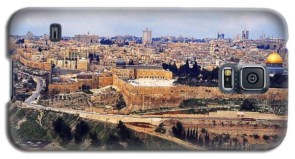 Jerusalem From Mount Olive Galaxy S5 Case