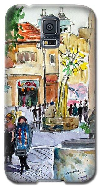 Jerusalem Street Scene Galaxy S5 Case