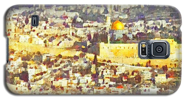 Jerusalem Sunrise Galaxy S5 Case