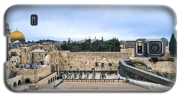 Jerusalem The Western Wall Galaxy S5 Case by Ron Shoshani