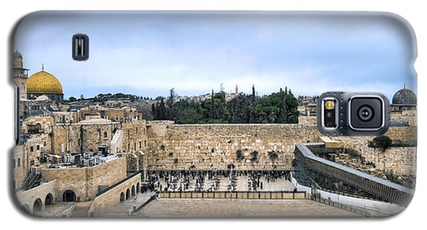 Jerusalem The Western Wall Galaxy S5 Case