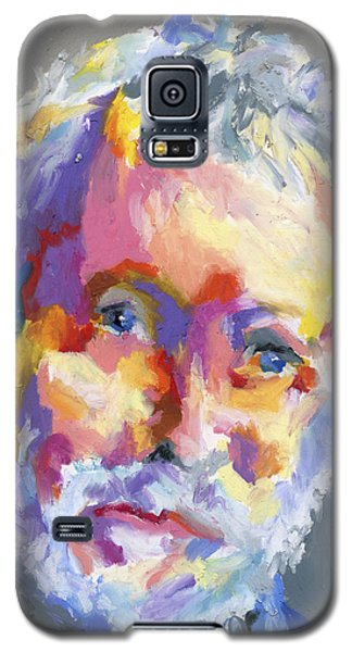 Galaxy S5 Case featuring the painting Jesse Winchester by Stephen Anderson