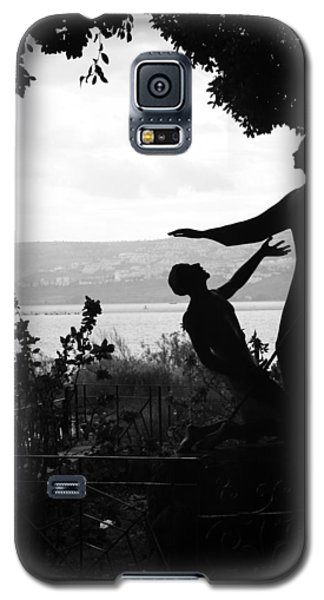 Jesus And Saint Peter By Sea Of Galilee Galaxy S5 Case