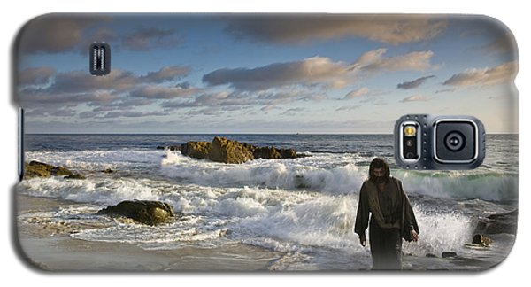Jesus Christ- Follow Me And I Will Make You Fishers Of Men Galaxy S5 Case