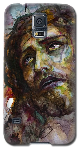 Galaxy S5 Case featuring the painting Jesus Christ by Laur Iduc