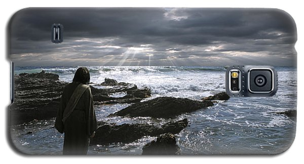 Jesus Christ- The Heavens Declare The Glory Of God Galaxy S5 Case