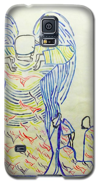 Jesus Guardian Angel Galaxy S5 Case