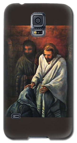 Jesus Healing Beggar Galaxy S5 Case
