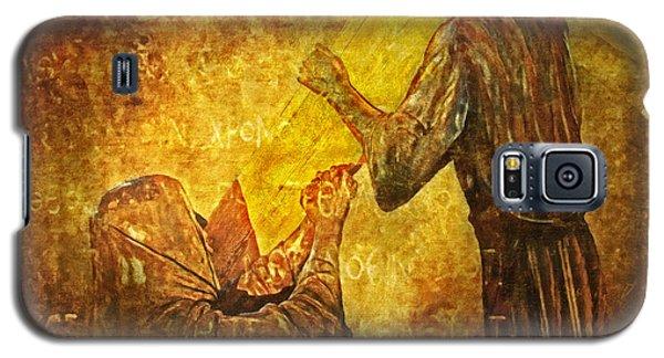Jesus Meets His Mother Via Dolorosa 4  Galaxy S5 Case