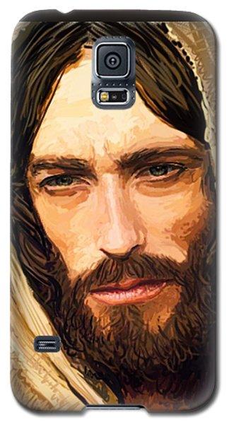 Jesus Of Nazareth Portrait Galaxy S5 Case