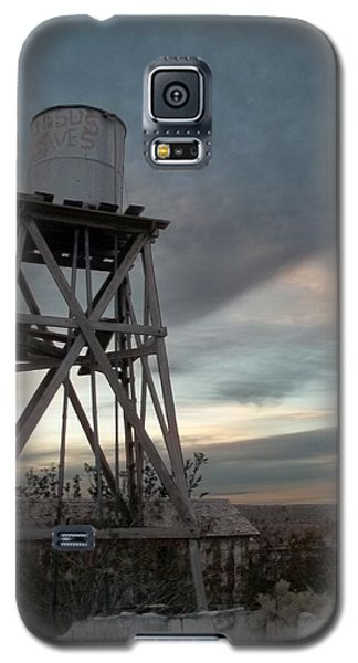 Jesus Saves Watertower - Route 66 Galaxy S5 Case by Glenn McCarthy Art and Photography