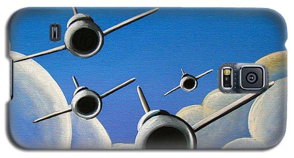 Airplane Galaxy S5 Case - Jet Quartet by Cindy Thornton