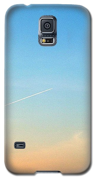 Galaxy S5 Case featuring the photograph Jet To Sky by Marc Philippe Joly