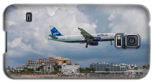 jetBlue in St. Maarten Galaxy S5 Case