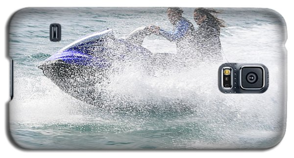 Jetboat Fun Galaxy S5 Case by Phoenix De Vries