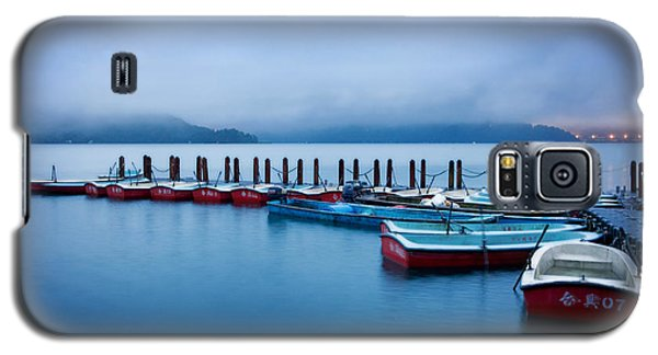Jetty At Sun Moon Lake Galaxy S5 Case
