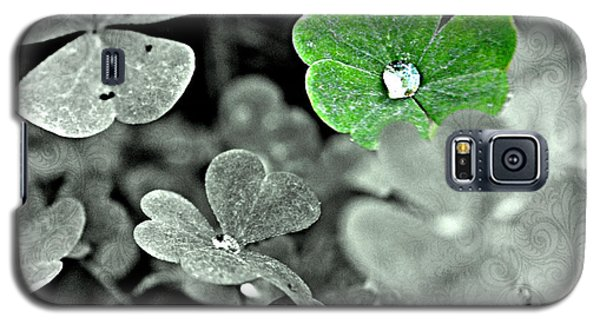 Jeweled Clover Galaxy S5 Case