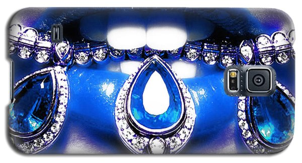 Jewelips Soft Blue Galaxy S5 Case