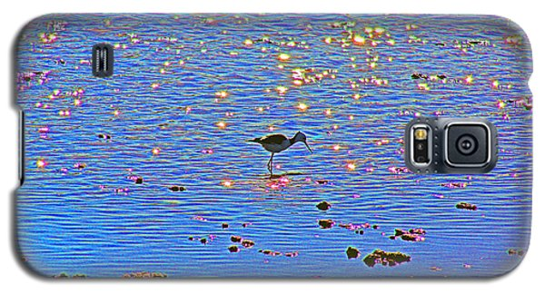 Galaxy S5 Case featuring the photograph Jewelled Water by Cassandra Buckley