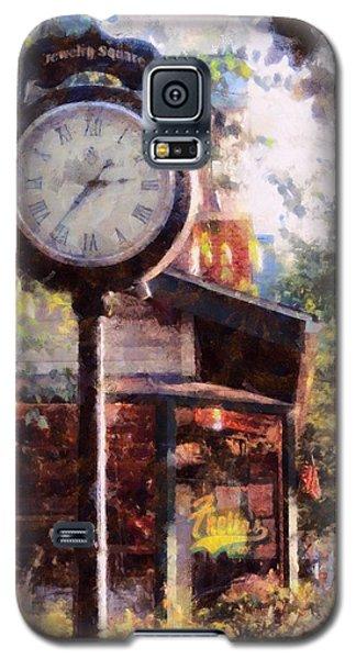 Jewelry Square Clock Milford  Galaxy S5 Case
