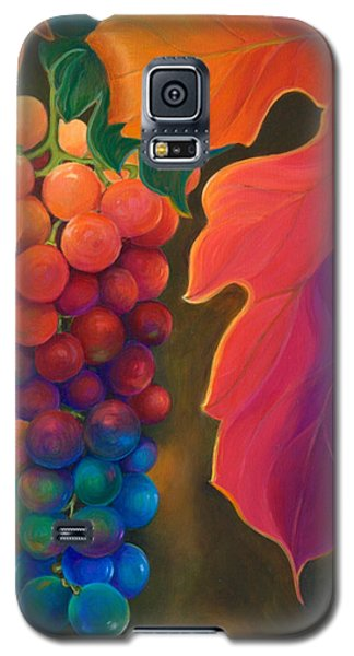 Galaxy S5 Case featuring the painting Jewels Of The Vine by Sandi Whetzel