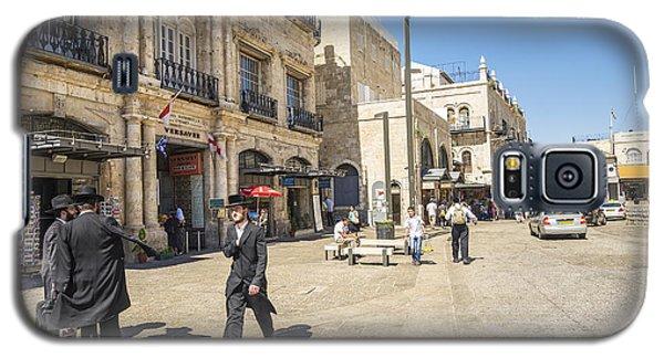 Jewish Men In Jerusalem Old Town Israel Galaxy S5 Case