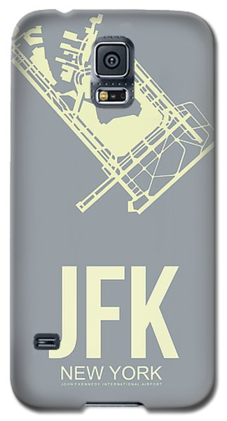 Jfk Airport Poster 1 Galaxy S5 Case by Naxart Studio