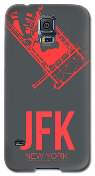 Times Square Galaxy S5 Case - Jfk Airport Poster 2 by Naxart Studio