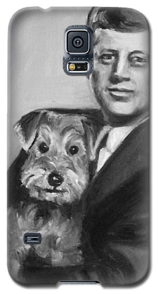 Jfk And Charlie Galaxy S5 Case