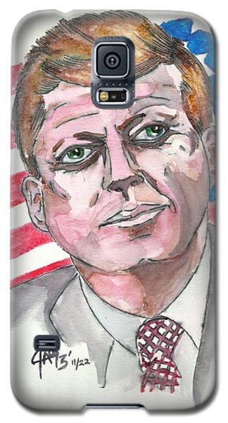 JFK Galaxy S5 Case by The GYPSY And DEBBIE