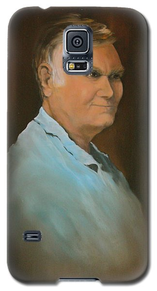 Galaxy S5 Case featuring the painting Jim by Jean Walker