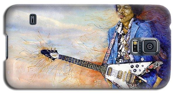 Portret Galaxy S5 Case - Jimi Hendrix 10 by Yuriy Shevchuk
