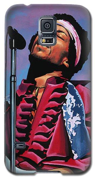 Knight Galaxy S5 Case - Jimi Hendrix 2 by Paul Meijering