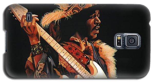 Knight Galaxy S5 Case - Jimi Hendrix 3 by Paul Meijering