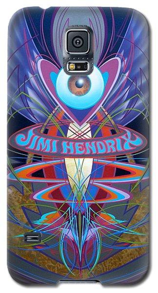 Jimi Hendrix Memorial Galaxy S5 Case