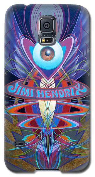Jimi Hendrix Memorial Galaxy S5 Case
