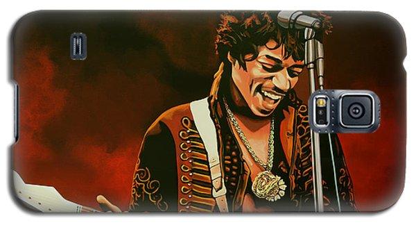 Jimi Hendrix Painting Galaxy S5 Case