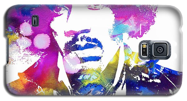 Jimi Hendrix - Psychedelic Galaxy S5 Case