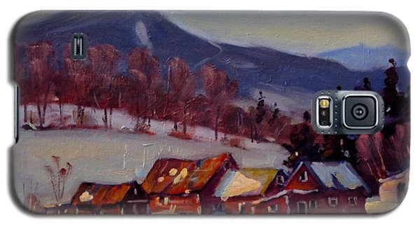 Galaxy S5 Case featuring the painting Jimmie's Place by Len Stomski