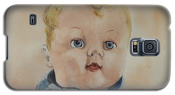 Galaxy S5 Case featuring the painting Jimmy James by Betty-Anne McDonald