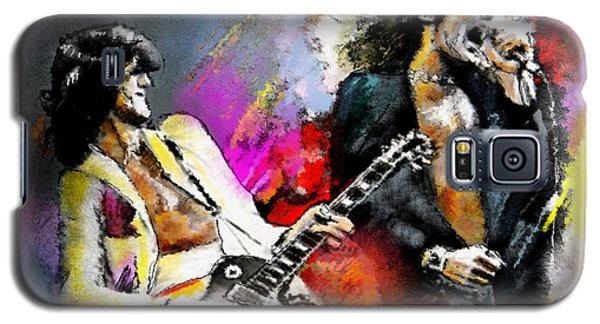 Jimmy Page And Robert Plant Led Zeppelin Galaxy S5 Case