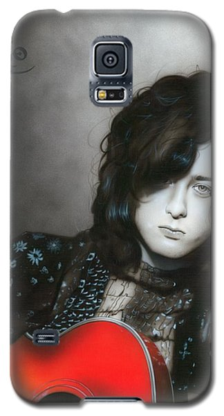 ' Jimmy Page ' Galaxy S5 Case by Christian Chapman Art